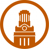 An icon of the UT Austin tower